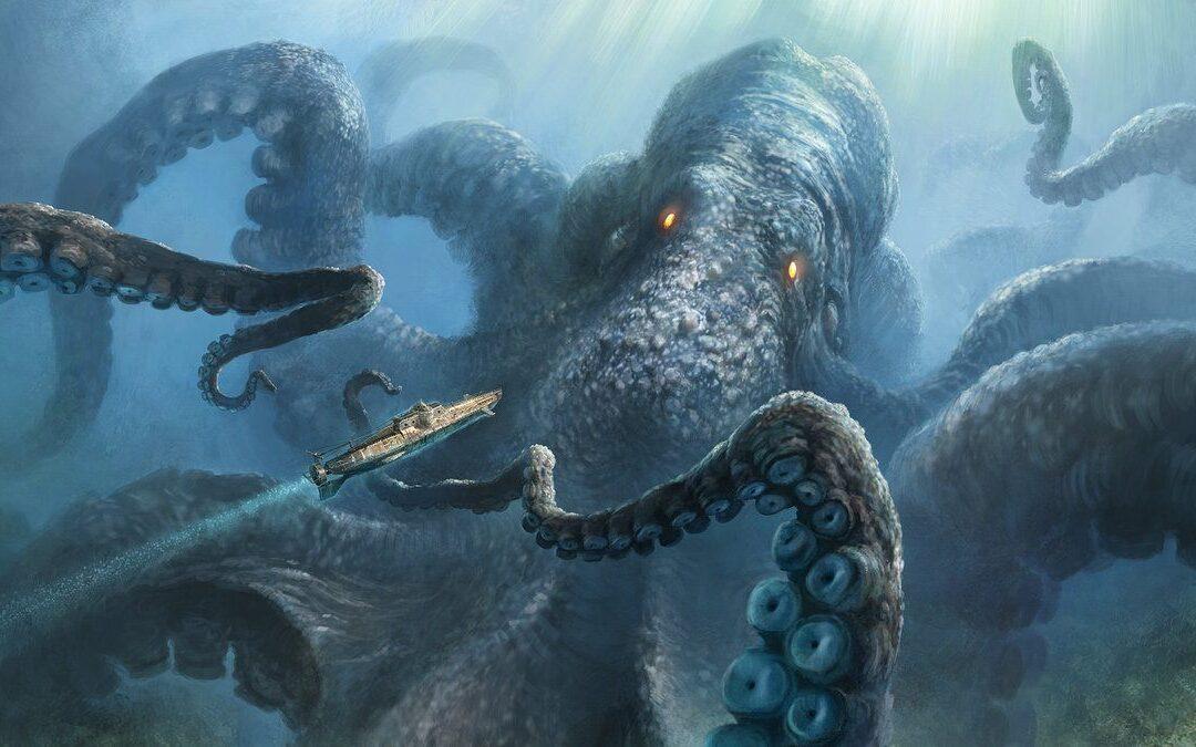 25 November 2020 The Kraken!